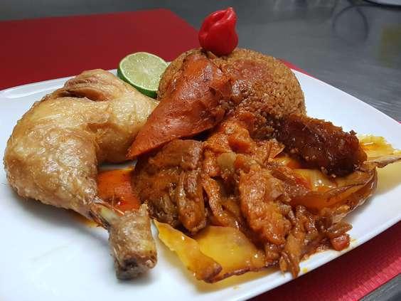 tchiep poulet riz rouge